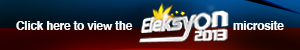 Eleksyon 2013 Microsite