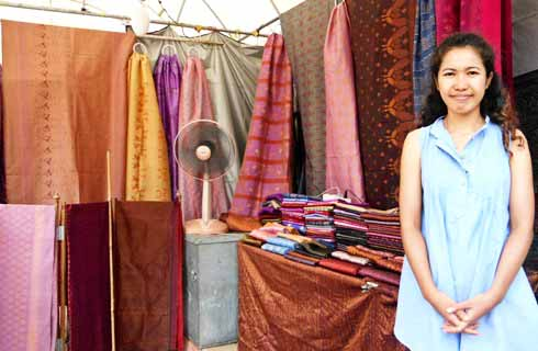 In search of the perfect Thai silk  Lifestyle  GMA News Online