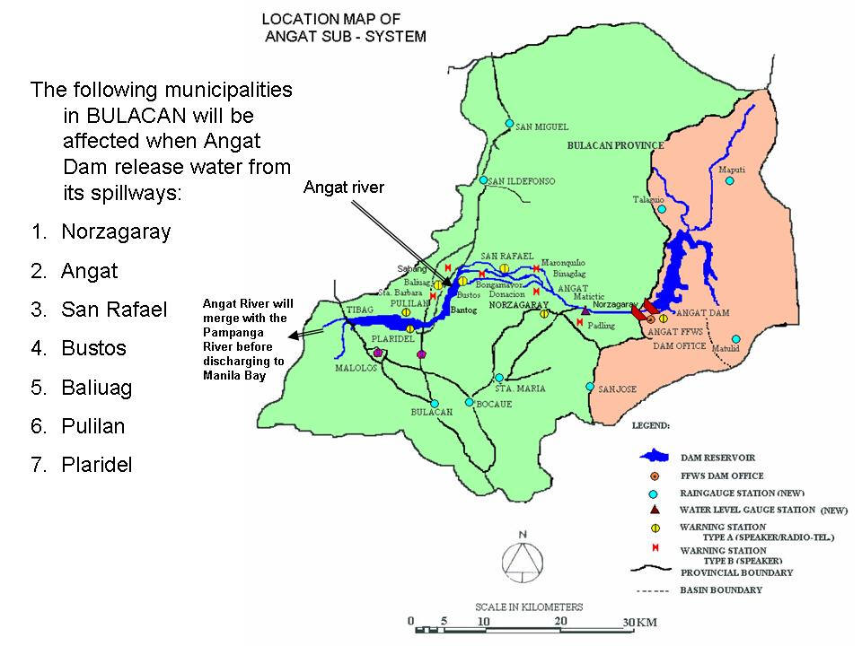 No Relief In Sight For Central Luzon As Dams Release Water News - Bulacan map philippines