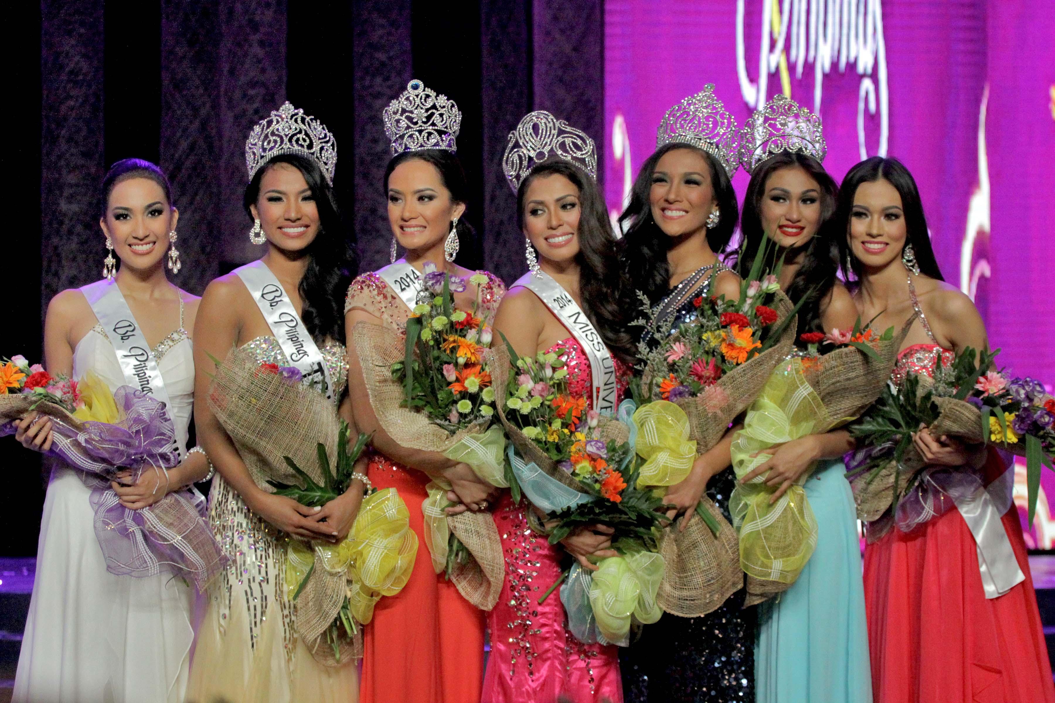 Bb. Pilipinas 2014 winners