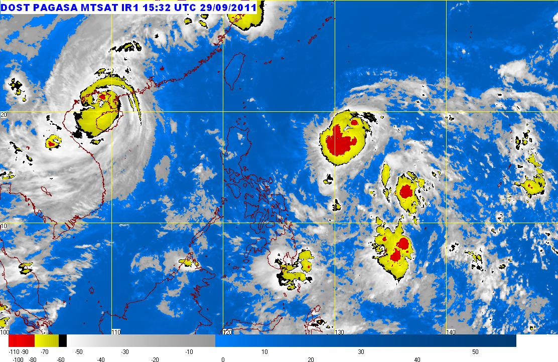 QUIEL MN SEPT29 Bagyong Quiel updates : PAGASA upgrades Quiel to typhoon