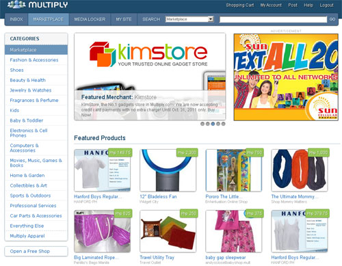 Online shopping sites in the philippines