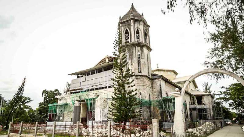 simbahan ng baclayon Loay was a recollect mission, and like baclayon which became theirs, the  church is filled with icons of their devotion these pulpito's once.