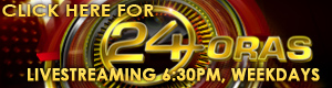 <b>UPCOMING</b><span>:</span> <b>UPCOMING</b><span>:</span> 24 Oras Livestream (June 20, 2013)