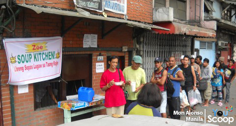 Zoe Soup Kitchen in Ermita. Photo by YouScooper Mon Alonso