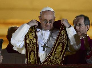 Pope Francis will be installed on March 19 at the Vatican