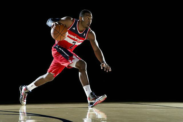 """Quick is what separates me from other players in the league,"" said Washington Wizards point guard John Wall."