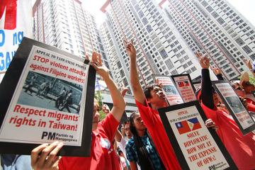 Labor group urges Taiwanese govt to protect Pinoys in Taiwan