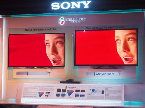 SONY launches new Bravia TV series with Triluminos Display