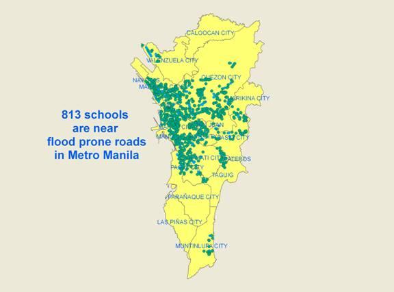 over 800 metro manila schools located in flood prone areas news