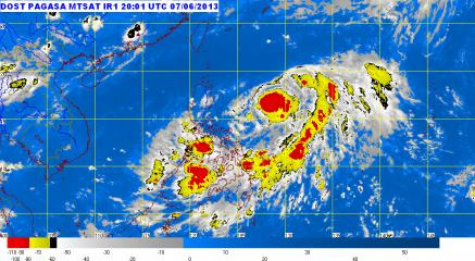PAGASA: Tropical Depression Dante spotted 690 km east of Aurora province