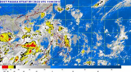Southwest monsoon to bring rain to western side of PHL