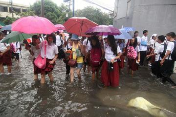 DepEd suspends classes in some NCR schools due to floods