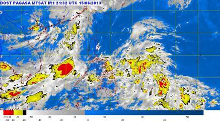 PAGASA: Habagat, LPA, ITCZ bring rain to various parts of PHL