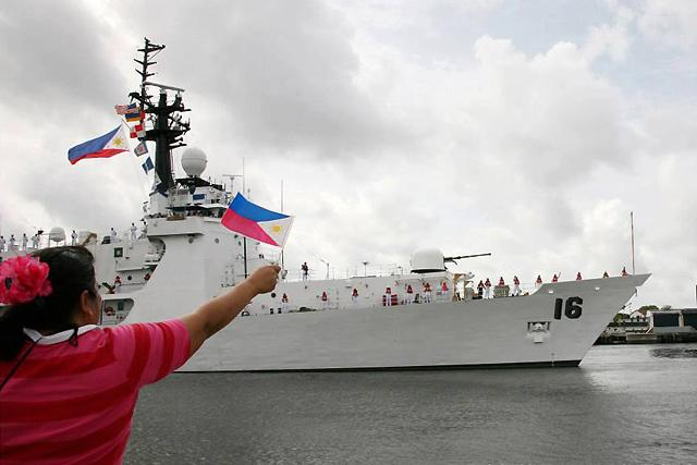 Phl Navys New Ship The Brp Ramon Alcaraz Reaches San Diego News