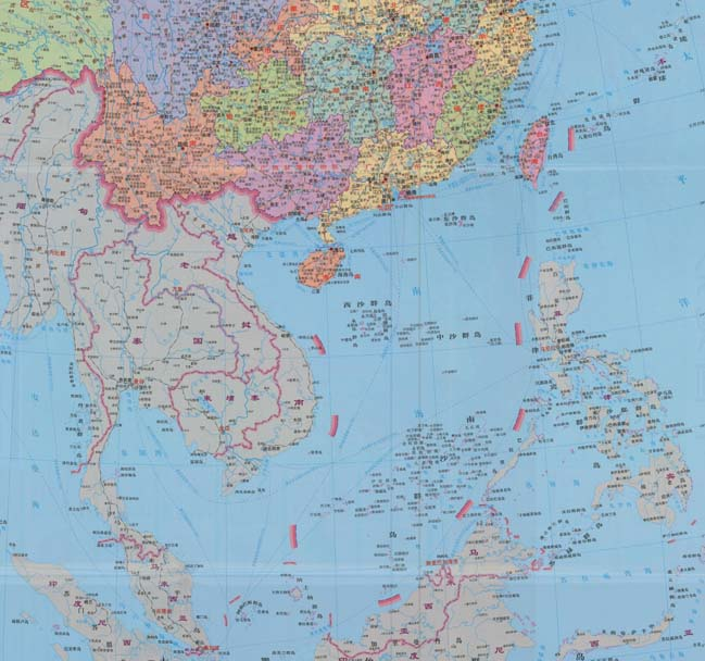 Show Map Of China.Phl New 10 Dash Line Map Shows China S Expansionist Ambitions