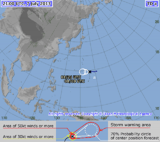 Cyclone off of PAR as of 5am, July 8
