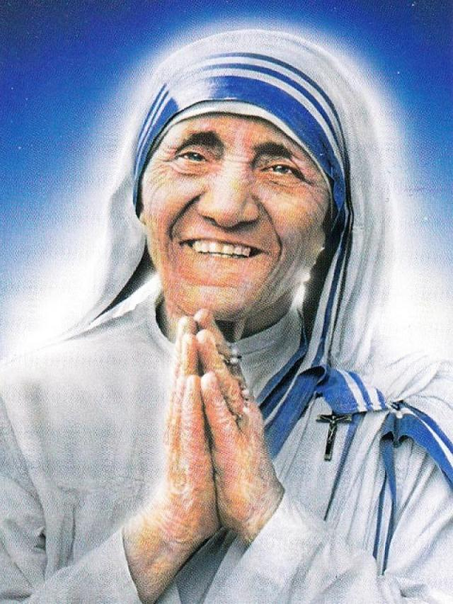 Znalezione obrazy dla zapytania saint mother teresa of calcutta
