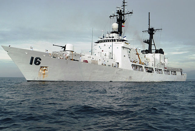 Navys 2nd Warship Brp Alcaraz Arrives In Phl News Gma News Online