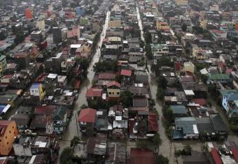 Parts of Metro Manila endure monsoon floods