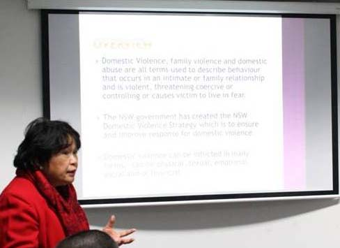 Phl consulate staff in australia get seminar on family law for Consul definition