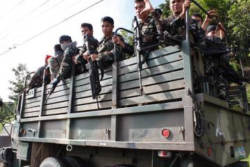 Troops from nearby provinces arrive in Zambo City