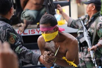 Some MNLF gunmen remain defiant even in captivity