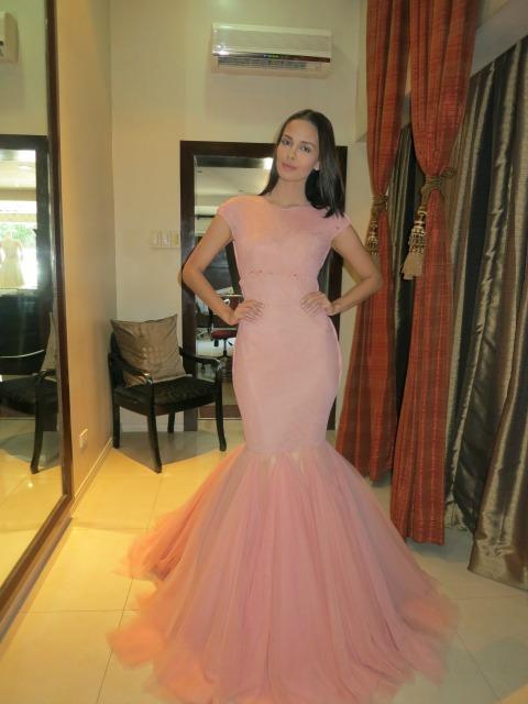 Francis libiran | Behind Miss World Megan Young\'s dress is Francis ...