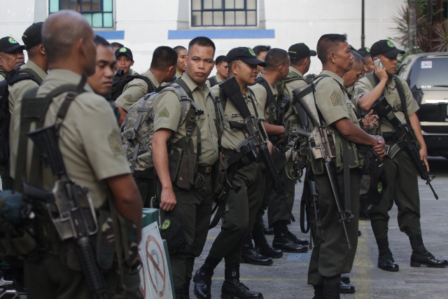 120 soldiers from Luzon deployed to Davao region vs. NPA