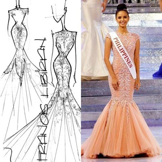 Behind Miss World Megan Young\'s dress is Francis Libiran | Lifestyle ...