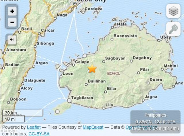 Where help is needed Visayas earthquake crisis maps News GMA