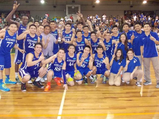ateneo blue eagles claim fr martin cup title gma news