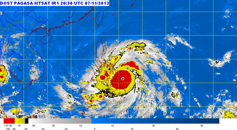 Yolanda Makes Landfall In Guiuan Eastern Samar Pagasa Scitech