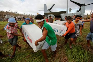 More relief aid delivered for Samar typhoon victims