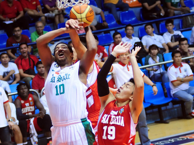 The De La Salle Green Archers crippled the San Beda College Red Lions
