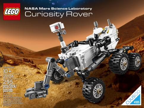 Lego Curiosity Rover With Martian Rocks Lands In Stores January 1
