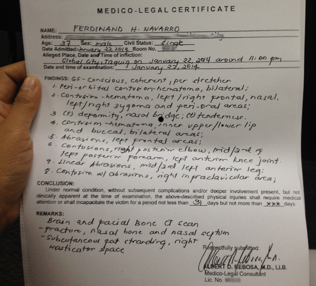 legal analysis pieces of paper philippines country