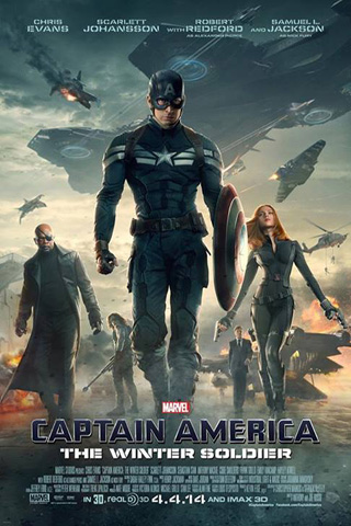 Movie review: 'Captain America: The Winter Soldier' is a superheroespionage thriller
