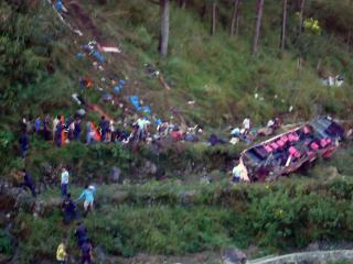 15 dead, 32 hurt in Bontoc bus accident