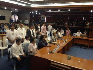 Ruby Tuason, whistleblowers at Senate pork probe