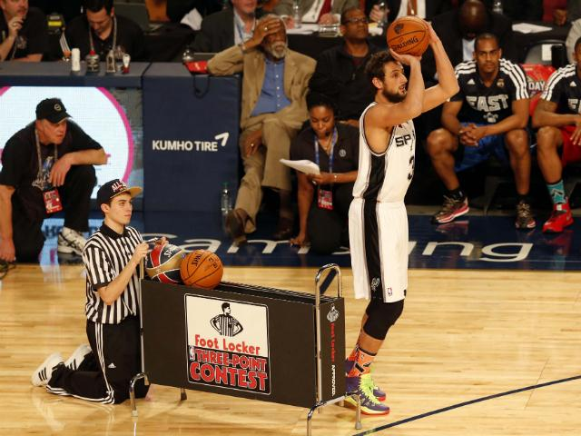 nba belinelli bests beal in allstar threepoint shootout