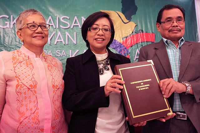 GPH, MILF panels make progress on draft Bangsamoro Basic Law