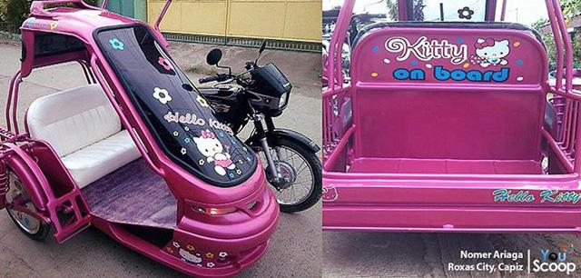 Newer, sleeker, cuter: Provincial tricycles evolving to suit