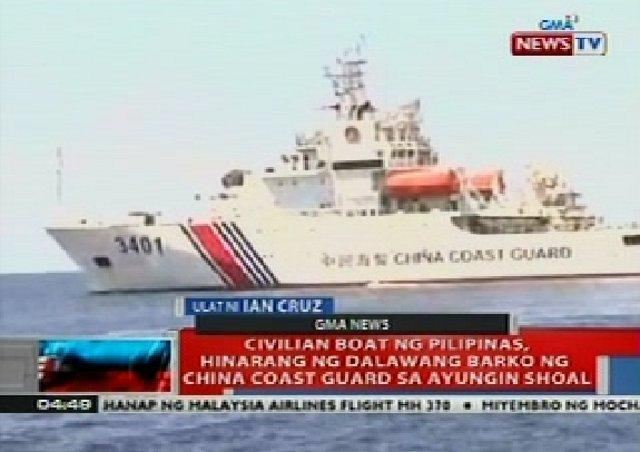 Image result for chinese coastguard filipinos reporters