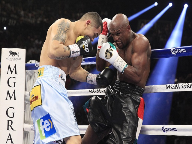 Image result for mayweather maidana reuters