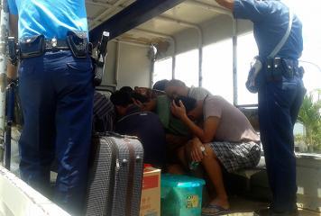 PNP Palawan detains 11 Chinese, 7 Pinoy fishermen for poaching