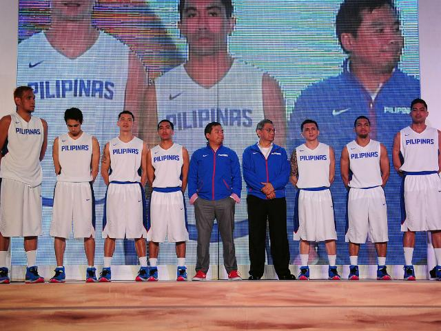 354b3f682bd Gilas Pilipinas gets uniform upgrade | Sports | GMA News Online