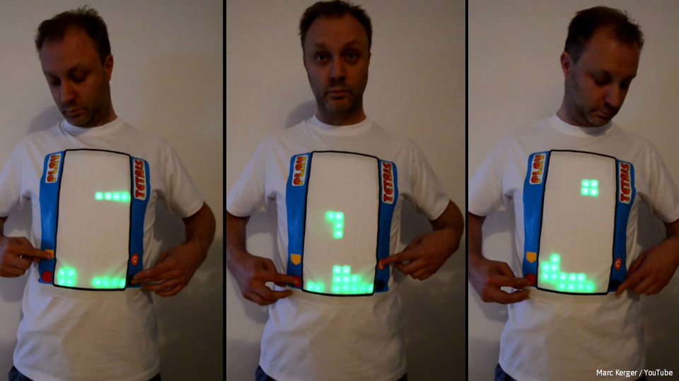 It May Be 30 Years Old But Tetris Better Known To Filipino Fans Through Its Many Brick Game Knockoffs Appears A Good Fit For The Wearable Tech Age