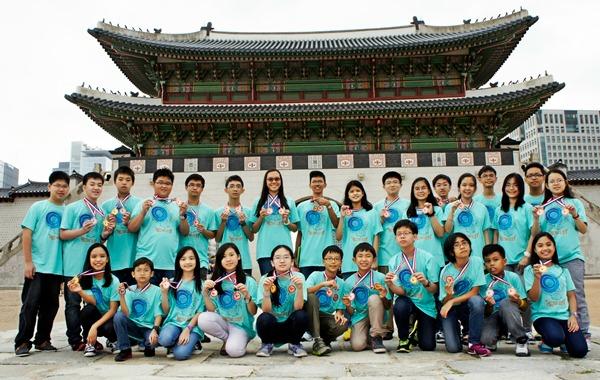 Clyde Wesley Ang Bags Korea Math Tilt Gold Medal