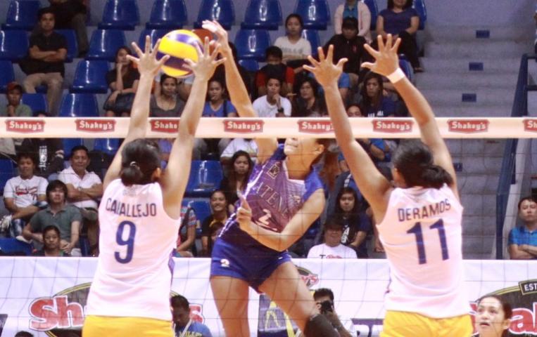 V-League: Alyssa Valdez takes on Air Force | GMA News Online
